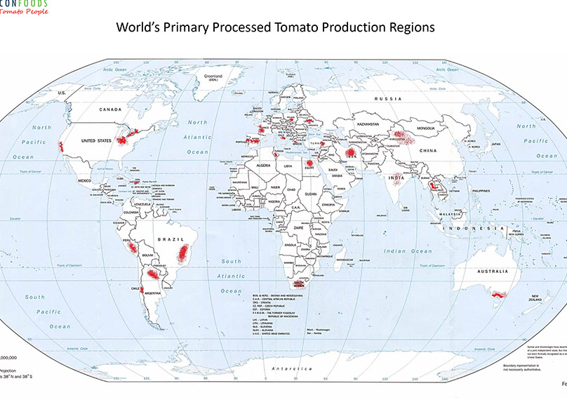 World Primary Growing Regions