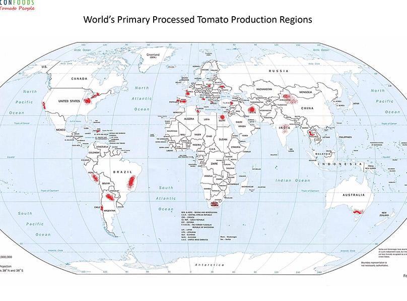 World Primary Growing Regions